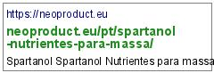 https://neoproduct.eu/pt/spartanol-nutrientes-para-massa/